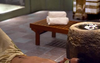 Relax in our communal baths, destress and unwind